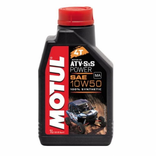 Масло Motul ATV SXS Power 4T 10W50 мот синт для квадроциклов (1л) 105900
