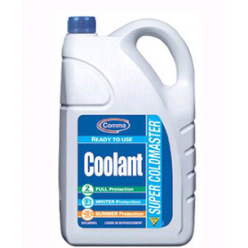 Антифриз G11 COMMA SUPER COLDMASTER READY TO USE COOLANT готовый 5л
