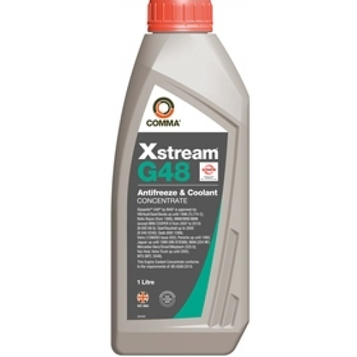 Антифриз G11 COMMA XSTREAM G48 CONCENTRATED ANTIFREEZE концентрат 1л